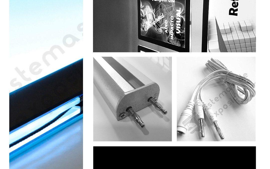 Guia de instalación de carpetas led - Sistemas de Exposición