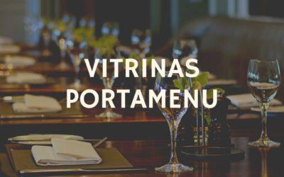 Vitrinas portamenu para bares y restaurantes ¿Que colocar?
