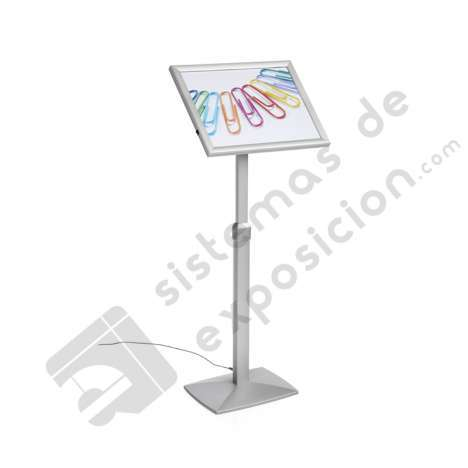 ATRIL MARCO ABATIBLE Y REGULABLE A3 CON LUZ LED_714