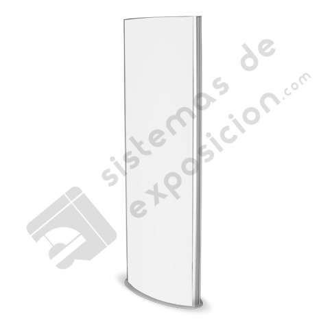PORTAPOSTER TOTEM CON LUZ LED500x1600 MM