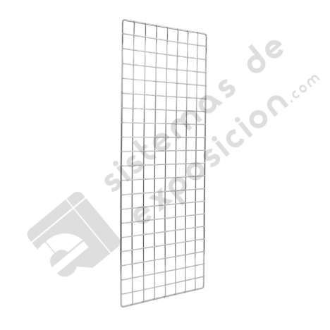 PARED DE REJILLA CON SOPORTES 2000x400mm