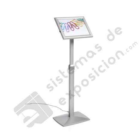 ATRIL MARCO ABATIBLE Y REGULABLE A4 CON LUZ LED