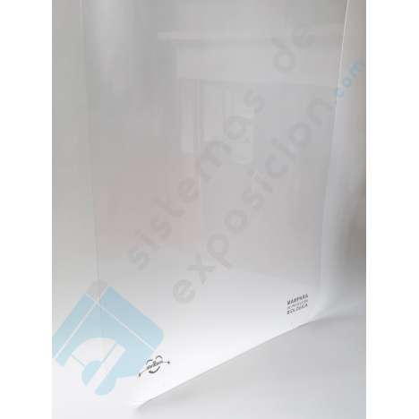 Material pet transparente de 1.5 mm de expesor