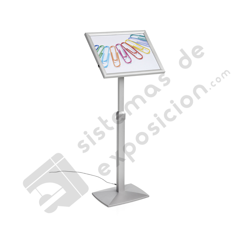 ATRIL MARCO ABATIBLE Y REGULABLE A3 CON LUZ LED