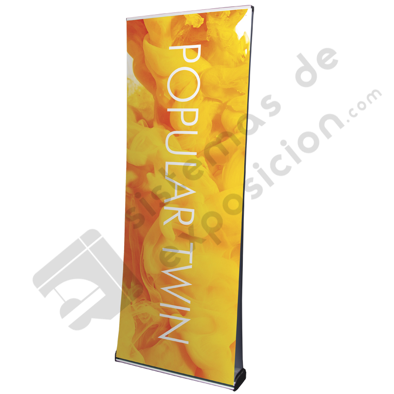 POPULAR DOBLE ROLL UP 1.2 X 2 M
